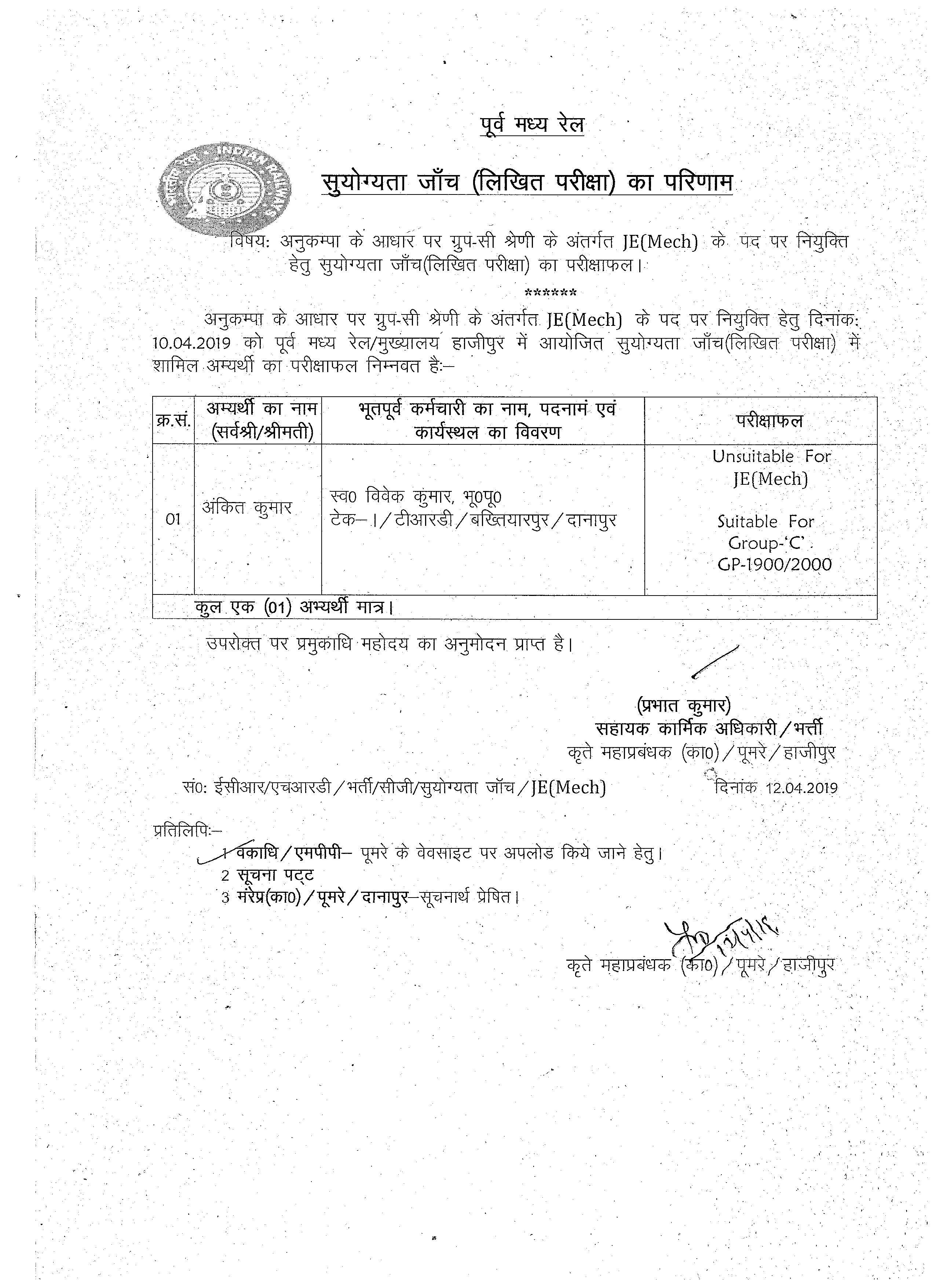 Indian Railways Portal